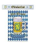Decoraciones de oktoberfest Cartel 122 x 76 cm & Bandera 120 x 20 cm