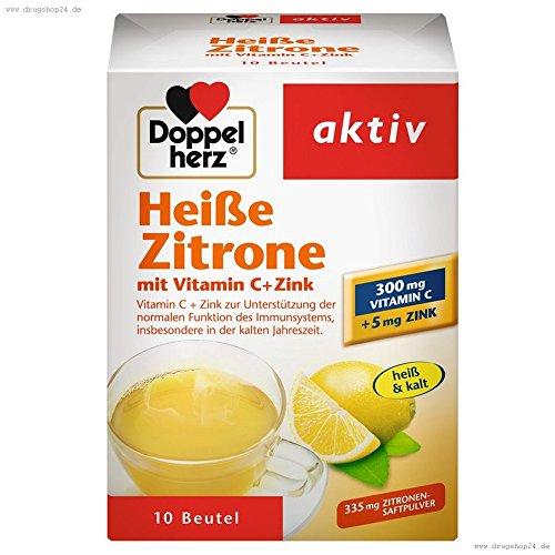 Vitamin C Zitrone (Doppelherz Heisse Zitrone Vitamin C + Zink Granula 10 stk)