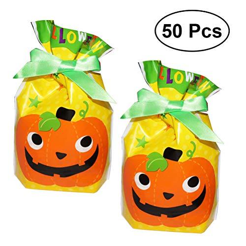 oween Nette PumpkinCandy Bag, Halloween Süßes Oder Saures Taschen, Kinder Party Kordelzug Geschenkbeutel ()