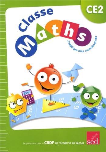 Classe Maths CE2 : J'applique mes connaissances