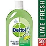 #1: Dettol Disinfectant Multi-Purpose Liquid Lime Fresh- 500 ml