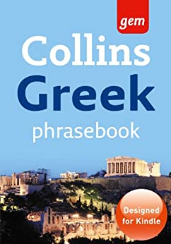 Collins Gem Greek Phrasebook and Dictionary (Collins Gem) by [Collins UK ]