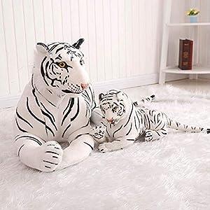 K2 Peluches de pelucheSimulación Tigre simulación Tigre Blanco Felpa Juguetes Regalos del día de los niños
