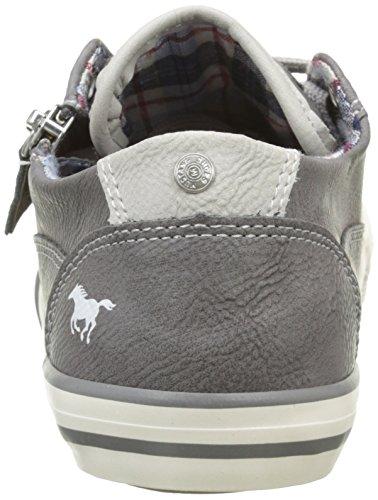 Mustang 5803307, Baskets Basses Mixte Enfant Gris (2 Grau)
