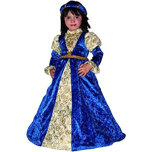 Giocoplast 4215 Costume Carnevale Bambina Giulietta 1-2 anni