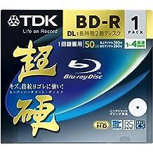 TDK Blu-ray Disc 1Pack–50GB 4x BD-R DL–Printable [2010Version] (Japan Import)