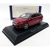 Norev® NV473817 1:43 2017 Peugeot 308 SW GT-Ultimate Rojo, Escala