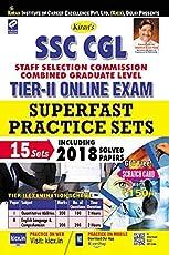 Kiran's SSC CGL Tier II Online Exam Superfast Practice Sets English - 2307