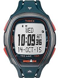 Timex TW5M09700 Herren-Armbanduhr mit Quarz-Uhrwerk, Digitalanzeige und Resin-Uhrenband.
