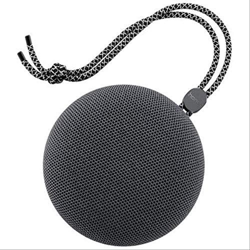 er Ip5 wasserdichter Mini beweglicher drahtloser Bluetooth Lautsprecher für iPhone Samsung SmartphonesGrau ()
