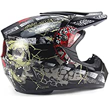 DUEBEL Casco de Motocrós de Calavera Pirata para BMX / Downhill / Cross-country /