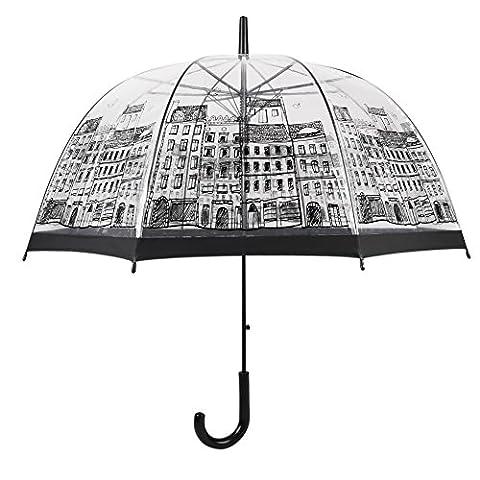 English Wind Champignon Parapluie, haute perméable Plastique dôme Parapluie