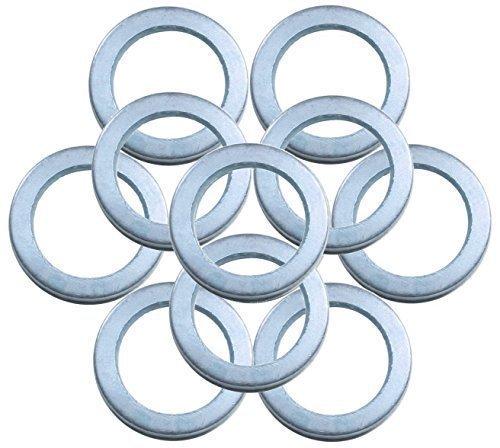 SBS Fitschenringe | ø 10,2 mm / 15,8 mm | 100 Stück | verzinkt | zum anheben von Türen |Unterlegscheiben