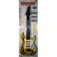 Heckle n Jeckles Rockband Musical Instrument Guitar Toy for Kids (Rockband Yellow)