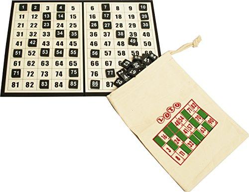 190-Bingo-Scheiben-hell-Kordelzug-Tasche-fr-Bingo-Tickets 1-90 Bingo Discs, Checkboard & Draw String Bag for Bingo Tickets -