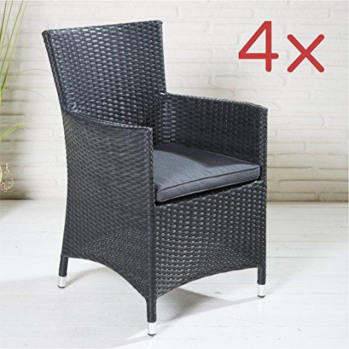 4-x-chaise-de-jardin-fauteuil-accoudoir-effet-rotin-noir-avec-coussin-dassise