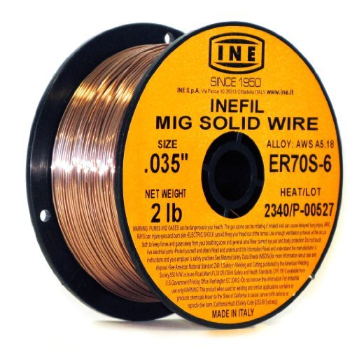 inefil-er70s-6-035-inch-on-2-poundspool-carbon-steel-mig-solid-welding-wire-by-ine-usa-since-1950
