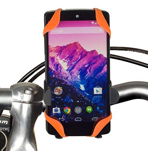 yayago Fahrrad halterung Halter für LG Google Nexus 5 und viele weitere Modelle Fahrradhalter X-Style mit doppelter Sicherheit