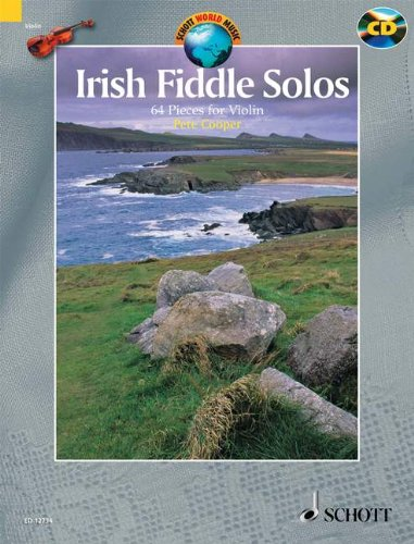 Partition classique SCHOTT COOPER PETE - IRISH FIDDLE SOLOS - VIOLIN Violon