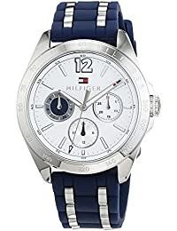 Tommy Hilfiger Damen-Armbanduhr Sophisticated Sport Analog Quarz Silikon 1781662