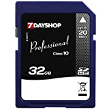 7dayshop Professional High-Speed SDHC Memory Card - 32GB - Class 10