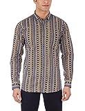 Dennison Men's Casual Shirt (SS-16-92_40_Multicolour)