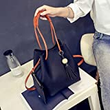 #8: Me&U NEW Women Ladies Shoulder Bag Tote Satchel Hobo CrossBody Handbag Faux Leather