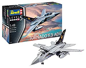 Revell Panavia Tornado F.3 ADV, Kit de Modelo, Escala 1: 48 (3925) (03925) (Revell03925)
