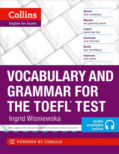 Vocabulary and Grammar for the TOEFL Test (Collins English for the TOEFL Test ) par Ingrid Wisniewska