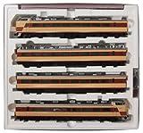 Jauge TOMIX HO HO-095 489 s?rie limit?e train express (KUHA 489-300, 700 ensemble de base (Japon import / Le paquet et le manuel sont ?crites en japonais)