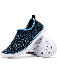 32afa099f6a78 Exing Lovers Water Shoes Scarpe a Piedi Nudi Outdoor Upstream Scarpe Suola  di Gomma Aqua Shoes Nuotare Yoga Beach Correre…