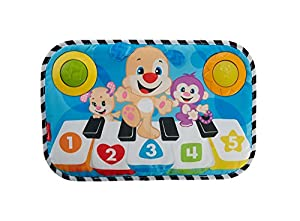Fisher-Price Piano perrito pataditas, juguete musical para bebé (Mattel FHJ40)