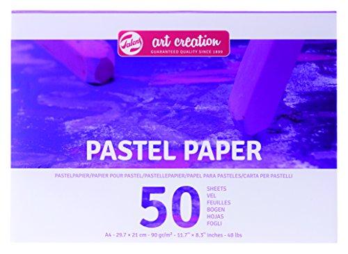 Talens Art Creation -   Pastellpapier A4, 90gm/qm , 50 Blätter, FSC-MIX