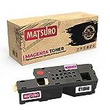 Matsuro Originale | Compatible Cartouches de Toner Remplacement pour Dell C1660 (1...
