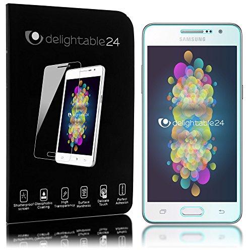 delightable24 Pellicola Protettiva Vetro Temprato Glass Screen Protector Smartphone SAMSUNG GALAXY GRAND PRIME - Transparente