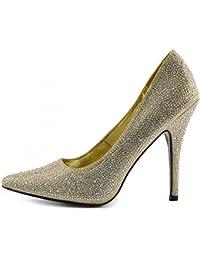 Amazon.es: 43 - Zapatos de tacón / Zapatos para mujer: Zapatos y complementos
