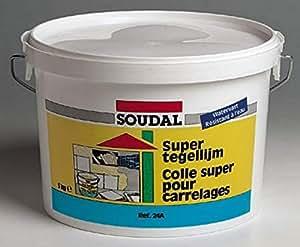 soudal - colle super carrelage seau plastique 5 kg