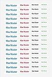 Mabi-IN-Design 150 Stück Namensaufkleber Sticker mit Namen 4 Verschiedene...