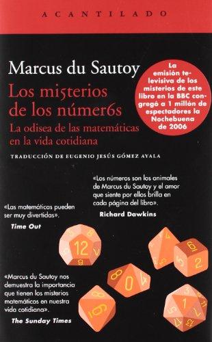 Los Misterios De Los Números (Acantilado) por Marcus Du Sautoy