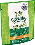 Greenies Original tägliche Zahnpflegesnacks Petite Hundeleckerli zur täglichen Zahnreinigung für kleine Hunde von 8-11kg, 1 Packung (1 x 340g)