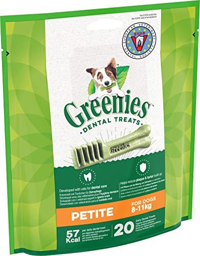 Greenies Original tägliche Zahnpflegesnacks Petite Hundeleckerli zur täglichen Zahnreinigung für kleine Hunde von 8-11 kg, 1er Pack (1 x 340 g) -