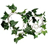 TB3C-9ft Artificial Fake Faux Ivy Vine Plant Garland Wedding new