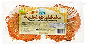 Pural Biscuits au Muesli et à l'Epeautre Bio 320g