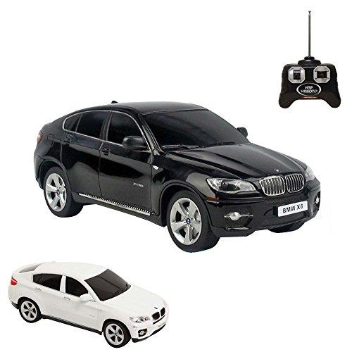 Preisvergleich Produktbild BMW X6 - RC ferngesteuertes Lizenz-Auto im Original-Design, Modell-Maßstab 1:24,inkl. Fernsteuerung