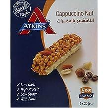Atkins Cappuccino Nut Bar - 5 x 30 gm