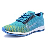 Dimara Men's Running Sports Shoes (9, Light Blue) - Best Reviews Guide