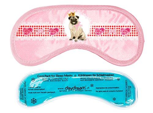 daydream M-3050 Pet Schlafmaske mit Kühlkissen / Coolpack, rosa