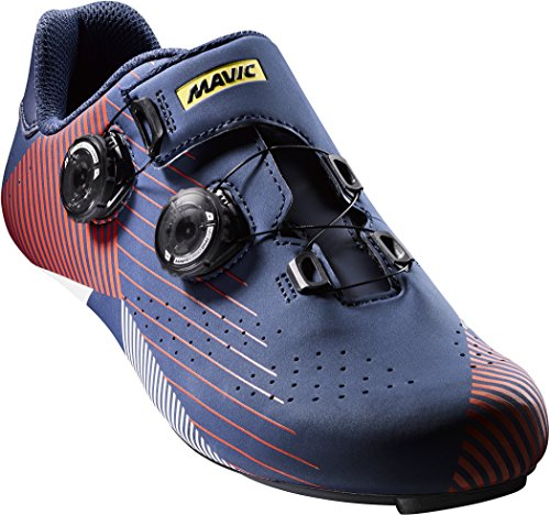Mavic Cosmic Pro SL Ltd Allure - Zapatillas Hombre - Rojo/Azul Talla del Calzado UK 7,5/EU 41 1/3 2018