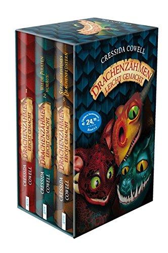 Drachenzähmen leicht gemacht: 3 Bände im Schuber: Drachenzähmen leicht gemacht (1). Wilde Piraten voraus! (2) Strenggeheimes Drachenflüstern (3). -