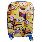 MINIONS TROLLEY BAG 18 INCH 4 WHEEL